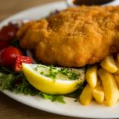 Fish and Chips Pontoon food image