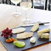 I'm Angus cheese and wine photo