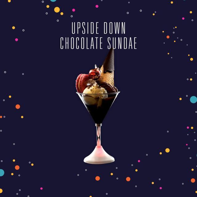 Upside Down Chocolate Sundae