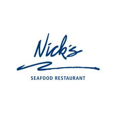 Nick's seafood restaurant logo